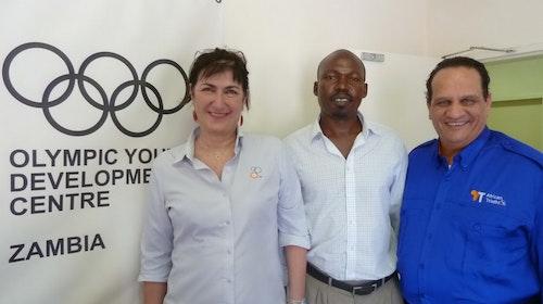 Visit - Olympic Youth Development Centre Zambia