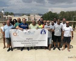 2018 Paphos ITU Technical Officials and Event Organizers Community Seminar