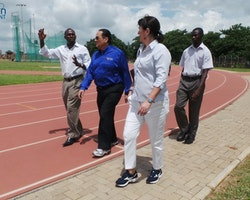 Visit - Olympic Youth Development Centre Zambia