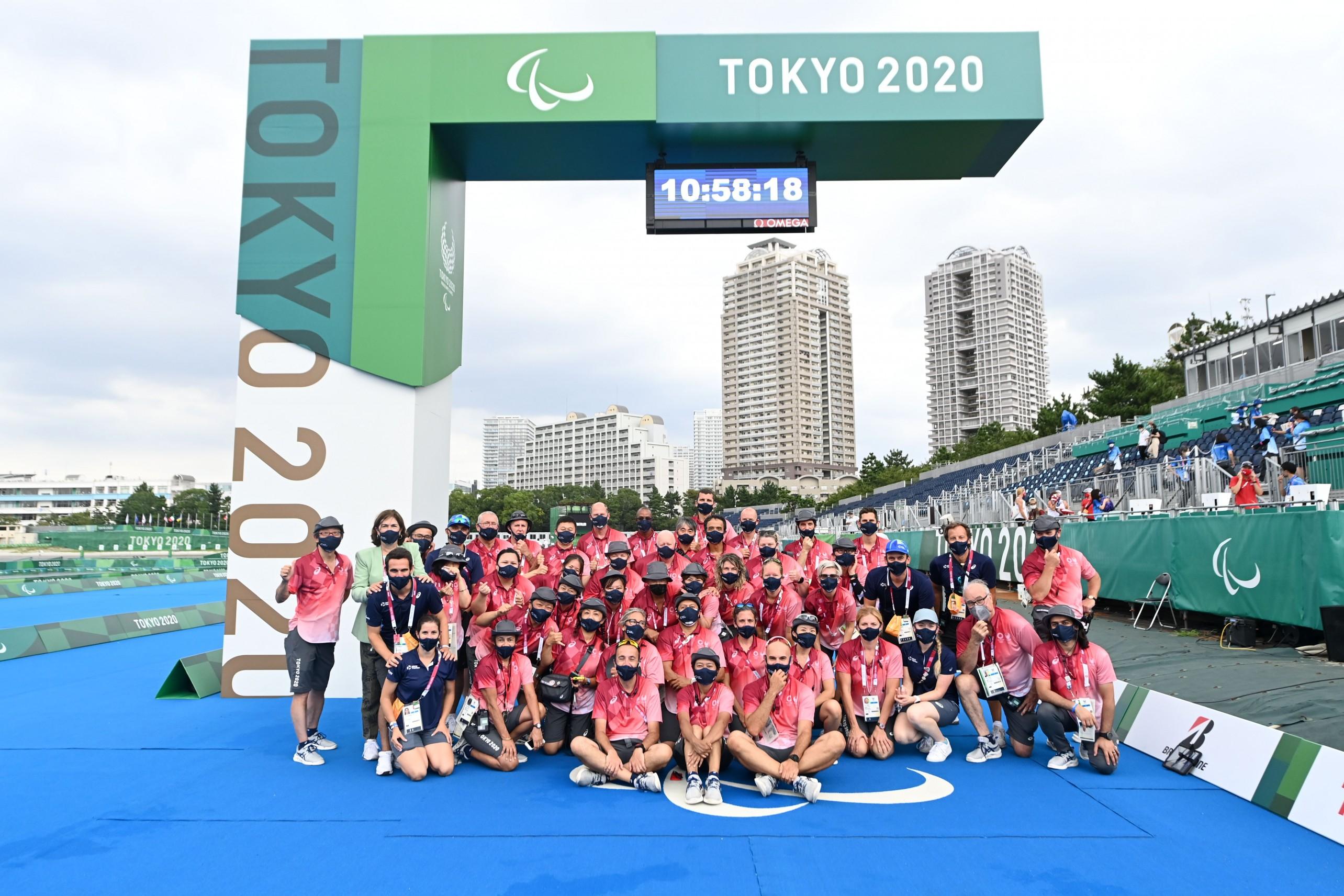 Delly_Para Triathlon Tokyo TOs