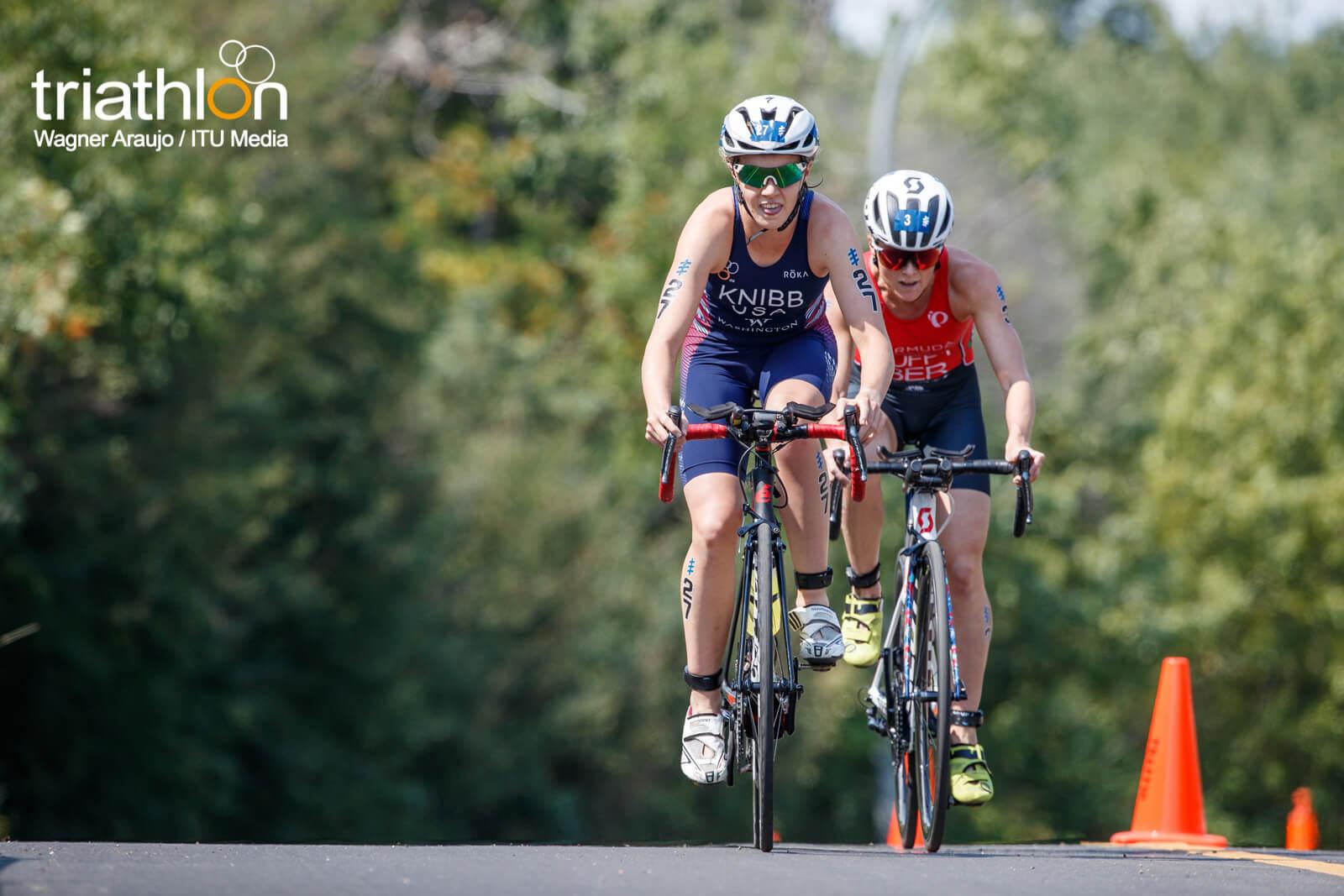 Taylor Knibb rides in Edmonton