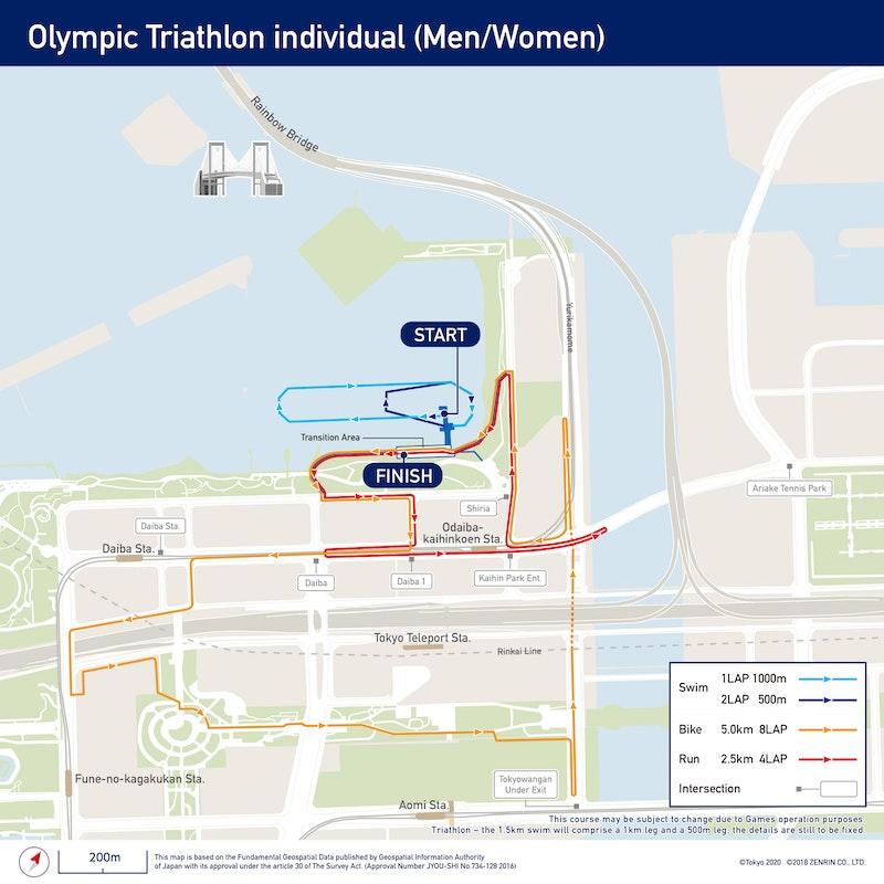 Olympic Triathlon Individual