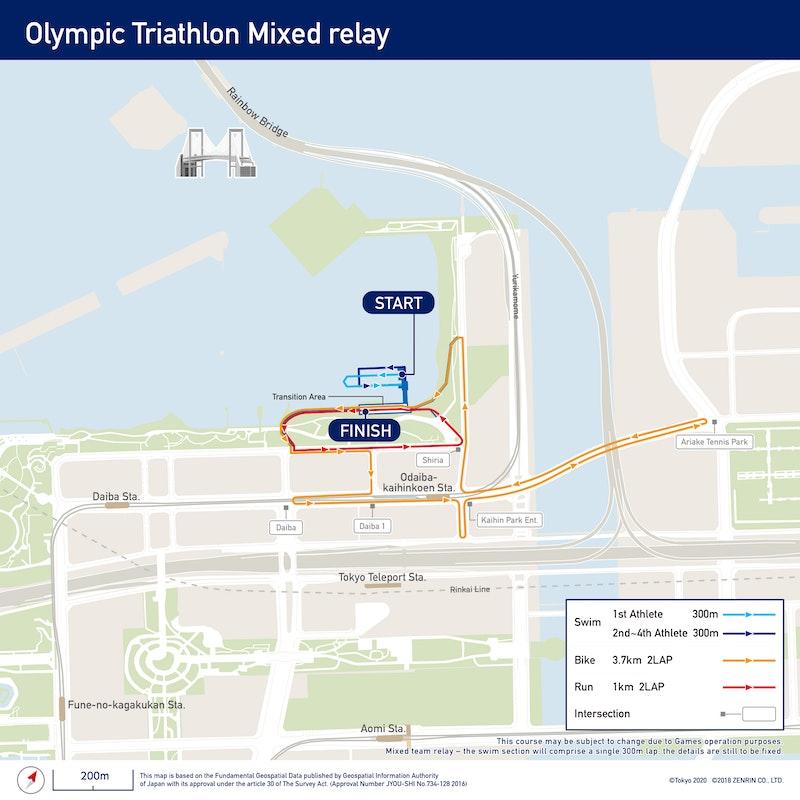 Olympic Triathlon Mixed Relay