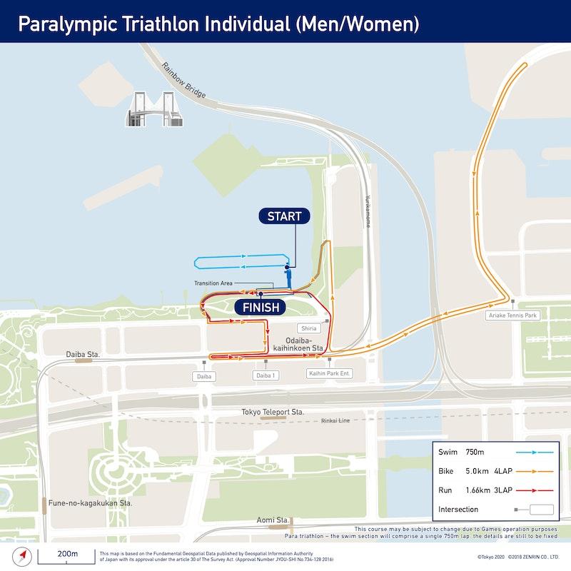 Paralympic Triathlon