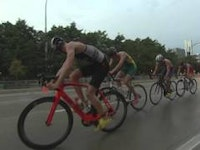 When thunderstorms caused the men's 2015 ITU World Championship men's junior race to be delayed and shifted to a duathlon.