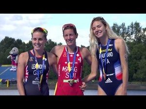 2018 European Championships Triathlon Elite Women Highlights