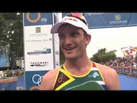 A World Cup win has always eluded South Africa's Richard Murray, but a perfectly executed performance at the ITU World Cup in New Plymouth delivered that for him. It's been a good start...