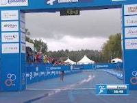Vicky Holland (GBR) scorched through the run at the penultimate race of the 2015 World Triathlon Series in Edmonton to score her second World Triathlon win of the year. Behind her, Flora Duffy (BER) and Gillian Backhouse (AUS) completed the podium, with Duffy securing her highest WTS finish ever, while the bronze for Backhouse was her first WTS medal.