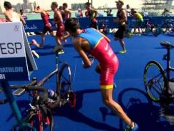 2016 Abu Dhabi World Triathlon - Elite Men's highlights