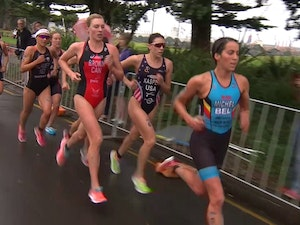 2017 New Plymouth ITU Triathlon World Cup Women's Highlights