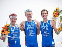 Norway becomes first men's team to sweep WTS podium in Bermuda.