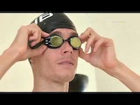 Slovak triathlete and Olympian Richard Varga, a renowned swim specialist known as