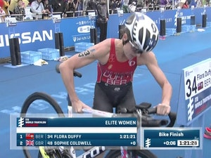 2017 World Triathlon Yokohama Women Highlights