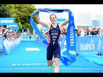 A video showcase of 2019 World Triathlon Series Yokohama