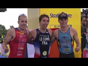 2018 European Championships Triathlon Elite Men Highlights