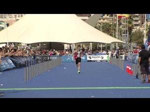 Sven Riederer of Switzerland wins gold at the 2013 Alicante ITU Triathlon World Cup