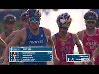 In an exciting early evening showdown in Edmonton Mario Mola (ESP) surged ahead of Kristian Blummenfelt (NOR) in the final lap of the run to capture his fourth consecutive WTS podium.