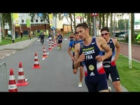 Screaming with excitement as he grabbed the finish line, France's Raphael Montoya was named the U23 Men's World Champion at the 2017 ITU World Triathlon Grand Final Rotterdam.