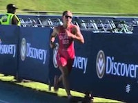 For the third consecutive year the Discovery World Triathlon Cape Town event has been captured by a Great Britain woman, as Non Stanford opened up her 2016 season with a victory.