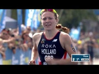 Increasing her 2018 World Triathlon Series gold medal tally to three, Great Britain's Vicky Holland won her third WTS race of the season after claiming victory at the 2018 ITU World Triathlon Montreal. Winning her second Olympic-distance race of the year, the Brit advanced 805 points in the overall Series rankings after the Penultimate event to put her in a strong contention position for the World Championship Crown at the Gold Coast Grand Final next month. Starting off on the wrong foot with a late start off the pontoon, the Brit clawed herself back in the game by catching up to the leaders on the bike, then breaking away on the run to eventually win the race.
