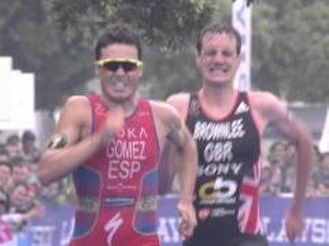 2015 ITU World Triathlon Series Yokohama  - Elite Men's Highlights
