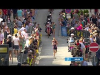 Gwen Jorgensen's almost flawless 2014 season added yet another chapter in Germany, when the American became the first athlete to win four consecutive World Triathlon Series races in the same...