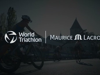 Maurice Lacroix - Official Timekeeper of World Triathlon Championship Series