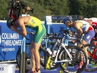 The 2015 ITU World Triathlon Grand Final Chicago officially kicked off with the Under23 men's World Champion being crowned.