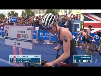 2019 MS Amlin World Triathlon Bermuda Women  Highlights