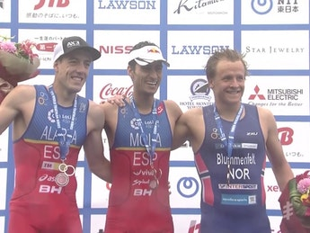 2017 World Triathlon Yokohama - Men Highlights