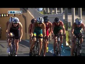 2019 Daman Мировая Серия Триатлона Абу-Даби. Женщины. Лучшие моменты гонки