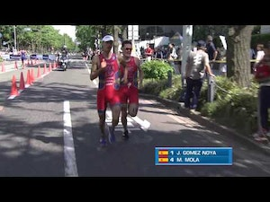2014 Yokohama ITU World Triathlon Series Highlights - Elite Men