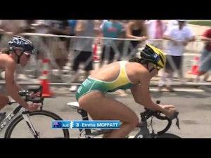 2014 ITU World Triathlon Chicago - Elite Women's Highlights