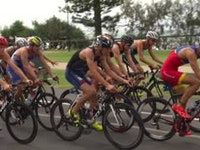 "Spain's Mario Mola was billed as the ""benchmark"" in the men's race at Mooloolaba on Saturday, and the No.1 ranked athlete on the start list didn't disappoint with his second major win in a week."