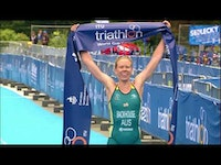 Australian Gillian Backhouse won the first ever edition of the ITU Karlovy Vary World Cup after a dominant race, showcasing a magnificient swim, a strong bike and a consistent run in the hills and cobbled streets of the Czech Republic town. Cheered on by the local crowds, local triathlete Vendula Frintova crossed the finish line in second, while American Summer Cook finished third.