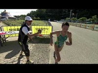Emma Jackson of Australia wins her first ITU World Cup Series event in Tongyeong, South Korea.