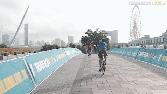 Virtual tour of the Tokyo 2020 triathlon bike course