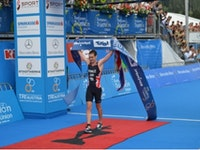 Alistair Brownlee secures hattrick of titles