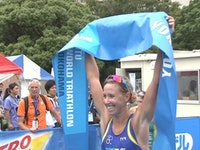 Highlights of the 2012 Yokohama ITU Womens Elite Race