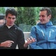 Alistair and Jonathan Brownlee on WTS Hamburg
