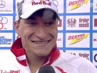 Brukhankov's second place interview in Kitzbuhel 2011
