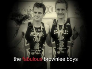 The fabulous Brownlee boys