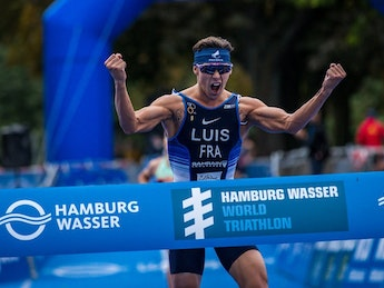 2020 Hamburg Wasser World Triathlon - Elite Mens Highlights