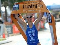 Reigning ITU Duathlon World Champion Vendula Frintova takes Mooloolaba