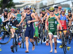International Triathlon Union/Delly Carr