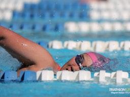 Elite athlete swim practice | Photo credit: Wagner Araujo