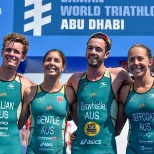 2019 Daman World Triathlon Mixed Relay Series Abu Dhabi