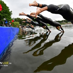 2020 Hamburg Wasser World Triathlon