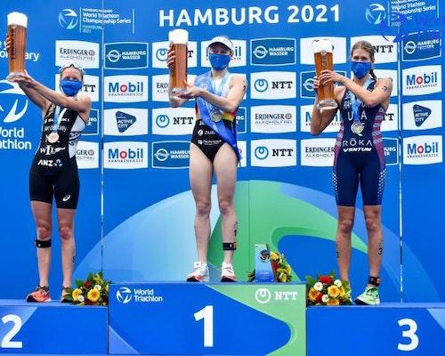 © HAMBURG WASSER 2021 World Triathlon Championship Series Hamburg
