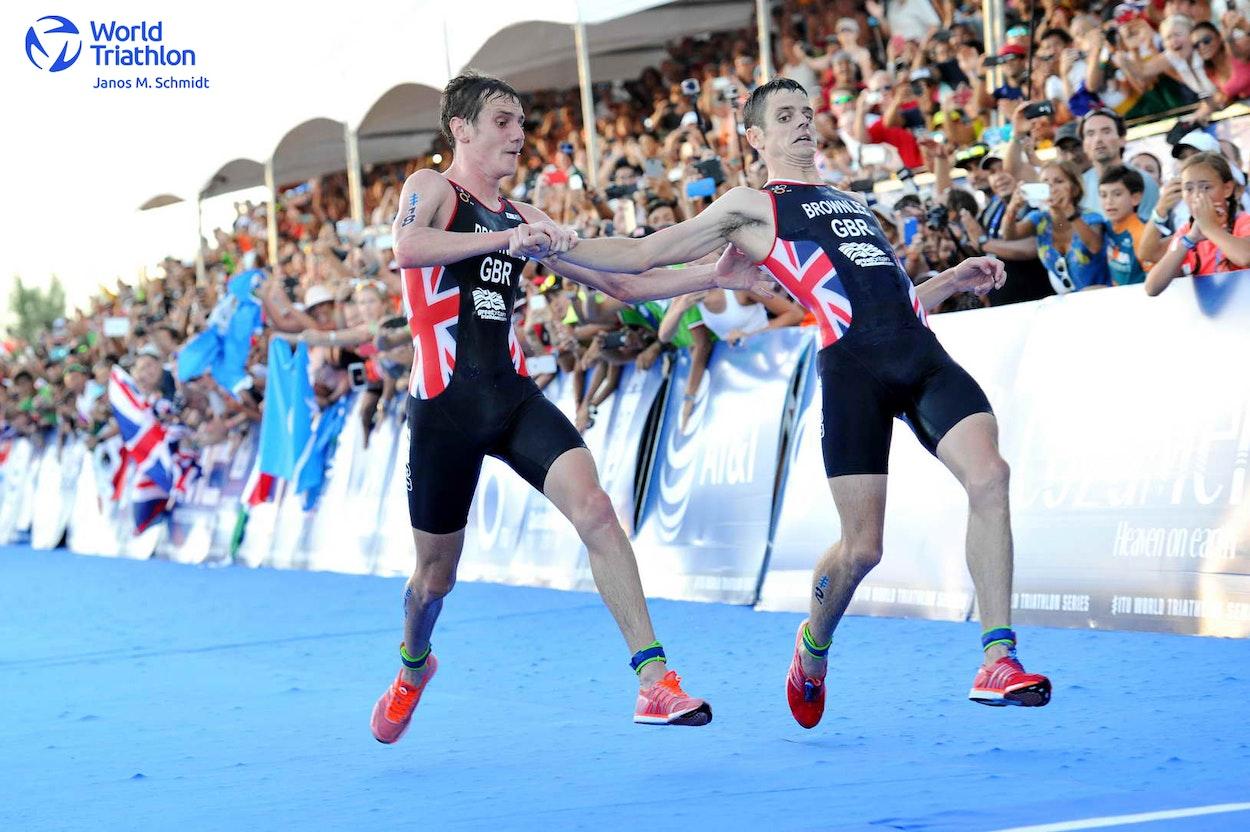 Great moments in triathlon by Janos M Schmidt